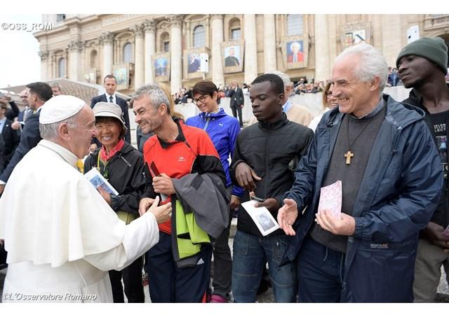 Francisco: todo cristão é missionário no ambiente em que vive